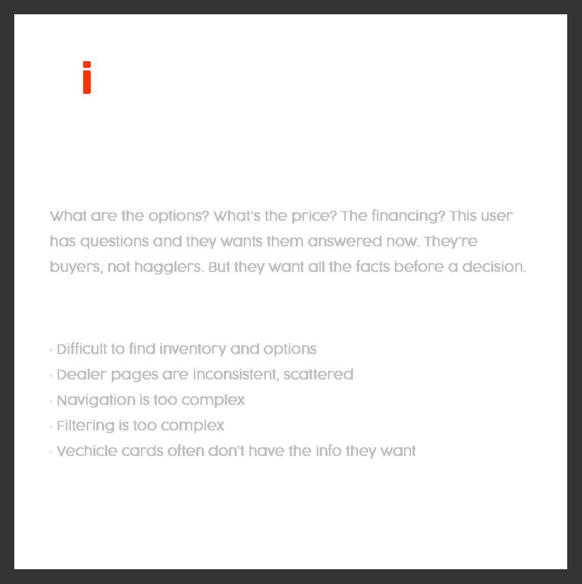 The info seaker - user persona