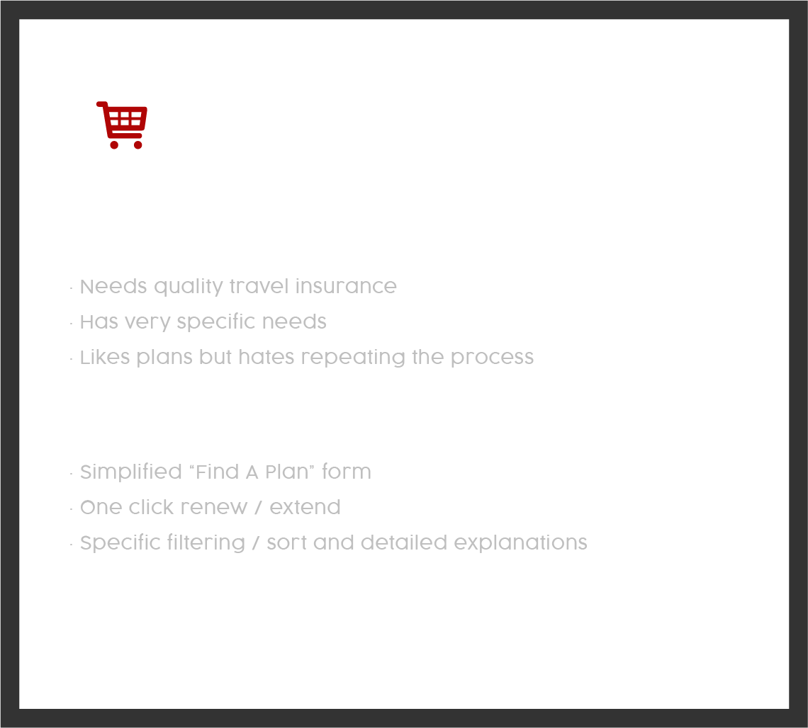 The Good Shopper - user persona